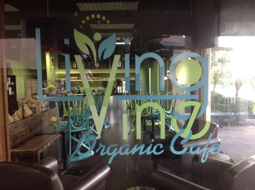 """Photo of Living Vine Organic Cafe  by <a href=""""/members/profile/JamesRoark"""">JamesRoark</a> <br/>Our motto is"""" EAT TO LIVE <br/> December 8, 2016  - <a href='/contact/abuse/image/83720/198136'>Report</a>"""