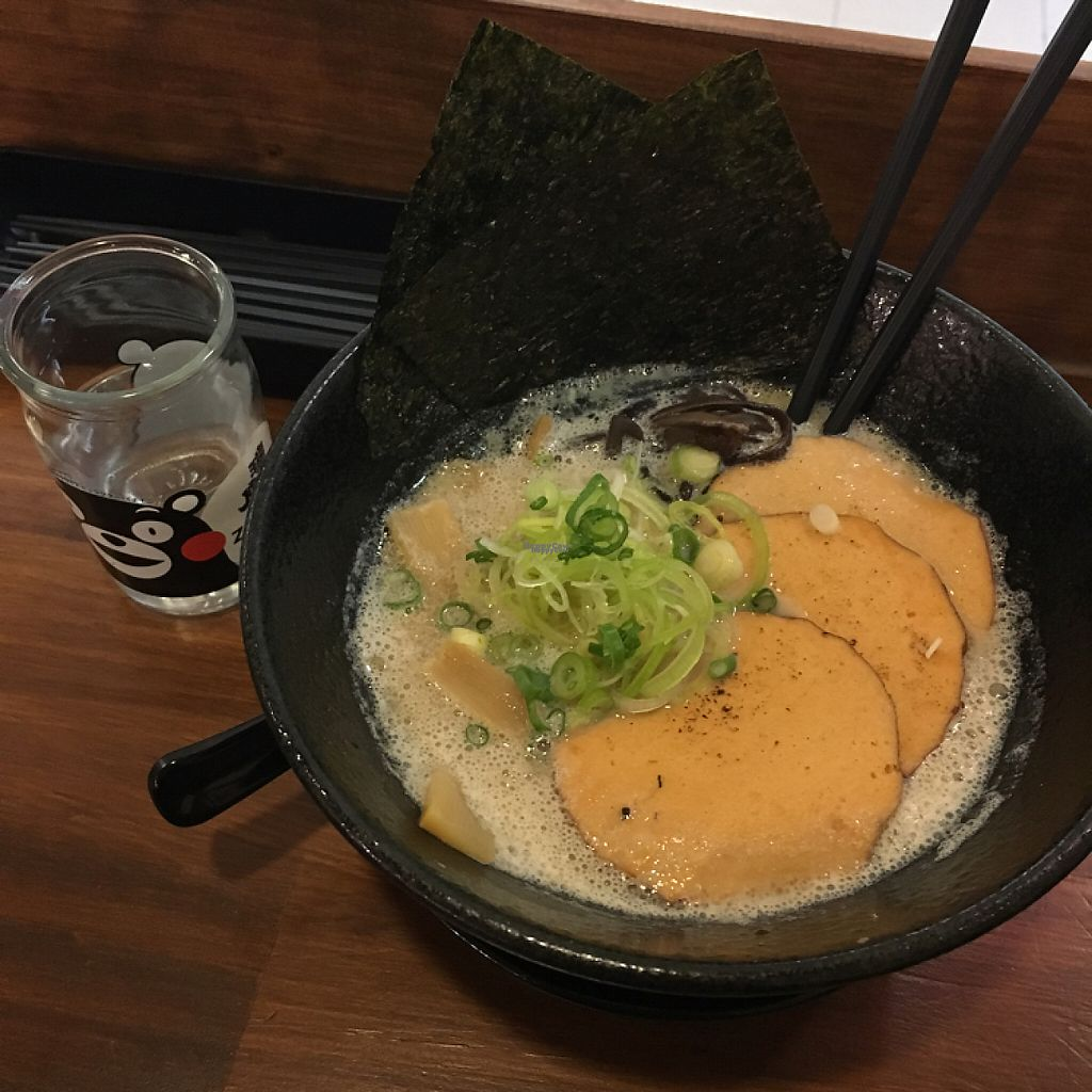 """Photo of Mr. Ramen San  by <a href=""""/members/profile/Chelseachernobyl"""">Chelseachernobyl</a> <br/>vegan ramen with """"sweet pork"""" <br/> February 2, 2017  - <a href='/contact/abuse/image/83728/220746'>Report</a>"""