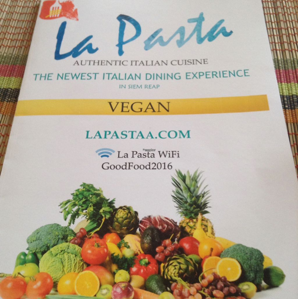 """Photo of La Pasta  by <a href=""""/members/profile/mikewinnemuller"""">mikewinnemuller</a> <br/>Menu <br/> January 14, 2017  - <a href='/contact/abuse/image/83737/211848'>Report</a>"""