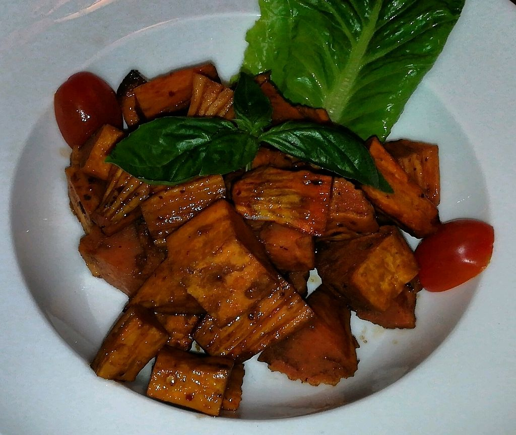 """Photo of La Pasta  by <a href=""""/members/profile/ThomNibbelin"""">ThomNibbelin</a> <br/>Sweet Potato Salad <br/> August 31, 2017  - <a href='/contact/abuse/image/83737/299237'>Report</a>"""