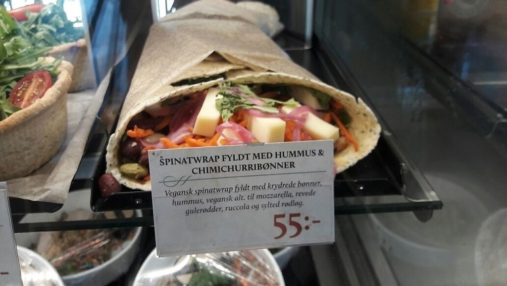 "Photo of Espresso House  by <a href=""/members/profile/piffelina"">piffelina</a> <br/>Picture of the vegan wrap <br/> April 30, 2017  - <a href='/contact/abuse/image/83743/254062'>Report</a>"