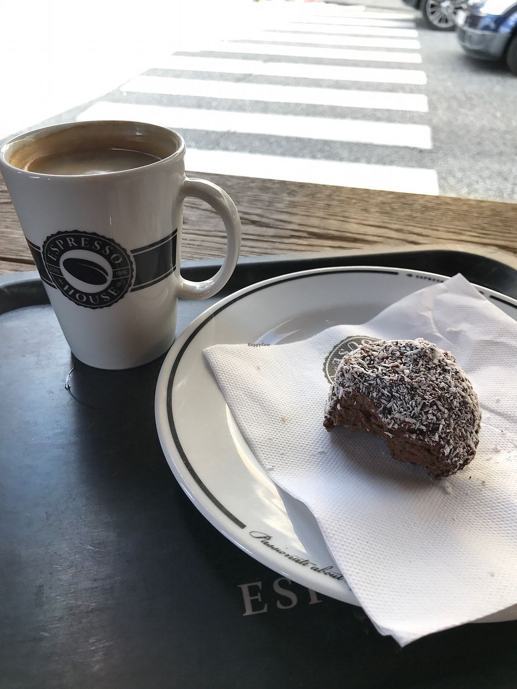 "Photo of Espresso House  by <a href=""/members/profile/KatrinBrever"">KatrinBrever</a> <br/>Swedish Chocolate Ball & Coffee Americano <br/> August 21, 2017  - <a href='/contact/abuse/image/83743/295088'>Report</a>"