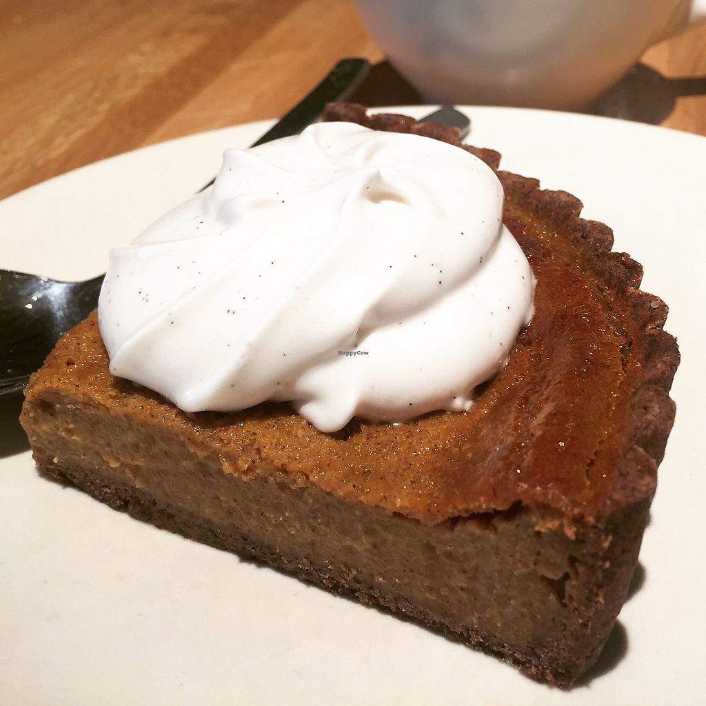"""Photo of True Food Kitchen  by <a href=""""/members/profile/VeganCookieLover"""">VeganCookieLover</a> <br/>Squash pie <br/> April 16, 2018  - <a href='/contact/abuse/image/83755/386664'>Report</a>"""