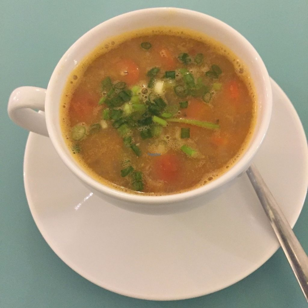 """Photo of Cafe Nirvana  by <a href=""""/members/profile/Pons"""">Pons</a> <br/>Tasty soup <br/> April 2, 2017  - <a href='/contact/abuse/image/83758/243718'>Report</a>"""