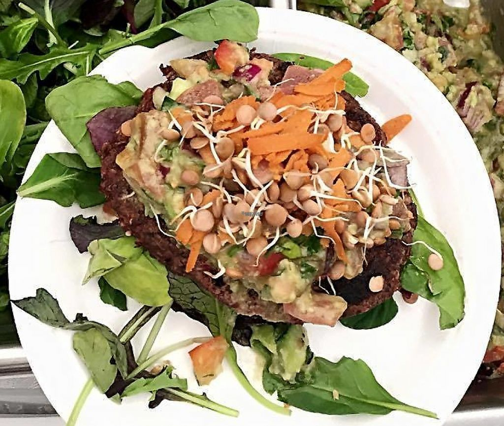 """Photo of The Gourmet Market  by <a href=""""/members/profile/community"""">community</a> <br/>'The veganburger' <br/> December 9, 2016  - <a href='/contact/abuse/image/83764/240556'>Report</a>"""