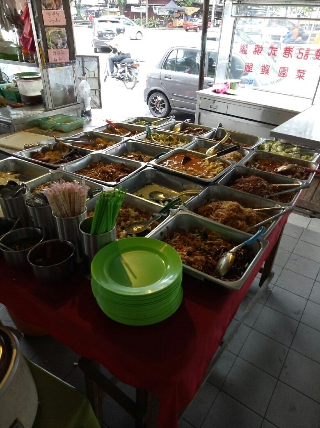 "Photo of Vegetarian Food Stall - Jalan 3/108c  by <a href=""/members/profile/CheeLeongLee"">CheeLeongLee</a> <br/>Dishes <br/> December 11, 2016  - <a href='/contact/abuse/image/83769/199213'>Report</a>"