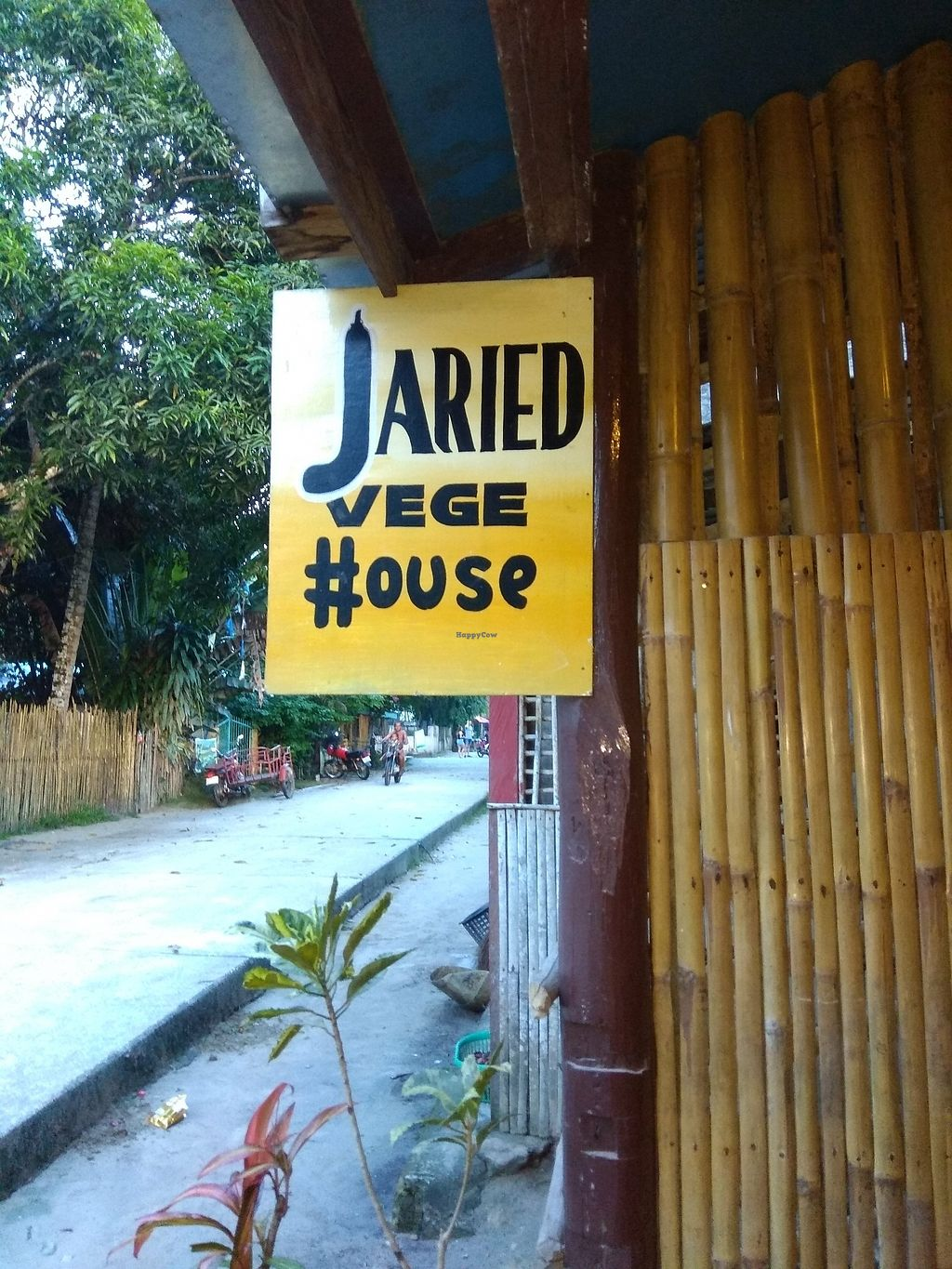 "Photo of Jaried Vege House  by <a href=""/members/profile/VincentVegan"">VincentVegan</a> <br/>Street sign <br/> August 7, 2017  - <a href='/contact/abuse/image/83783/290045'>Report</a>"