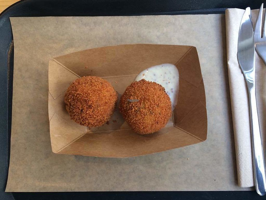 """Photo of Season Square  by <a href=""""/members/profile/LisaCupcake"""">LisaCupcake</a> <br/>Potato croquettes <br/> March 12, 2017  - <a href='/contact/abuse/image/83791/235405'>Report</a>"""