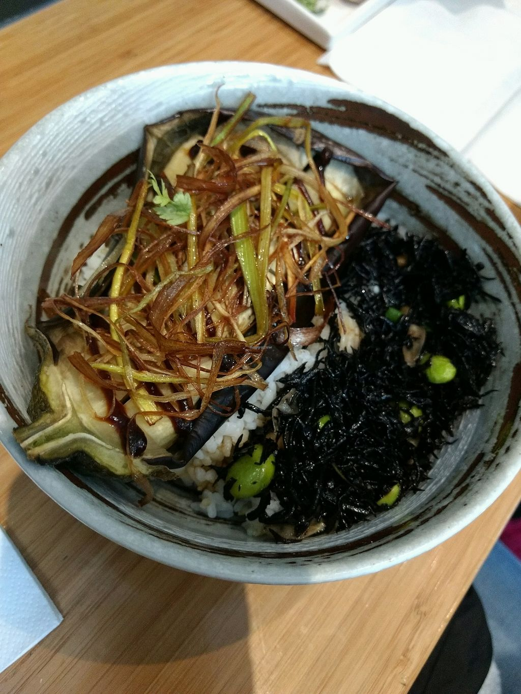 """Photo of Tombo  by <a href=""""/members/profile/craigmc"""">craigmc</a> <br/>aubergine rice bowl <br/> October 18, 2017  - <a href='/contact/abuse/image/83794/316326'>Report</a>"""