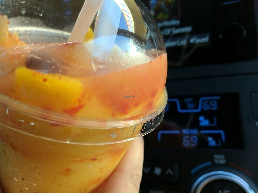 """Photo of Cancun Paleteria and Fruteria  by <a href=""""/members/profile/pedro2nr"""">pedro2nr</a> <br/>Mango Chile using mango concentrate juice <br/> June 5, 2017  - <a href='/contact/abuse/image/83797/265937'>Report</a>"""