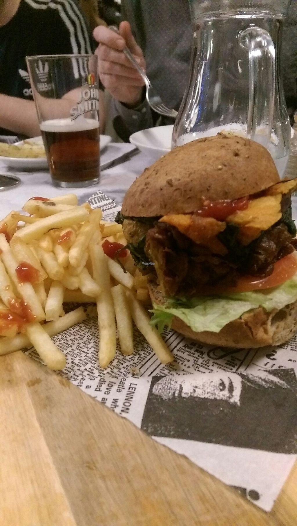 "Photo of Nu Bar  by <a href=""/members/profile/Melissaj1990"">Melissaj1990</a> <br/>epic vegan burger  <br/> December 22, 2016  - <a href='/contact/abuse/image/83820/204145'>Report</a>"