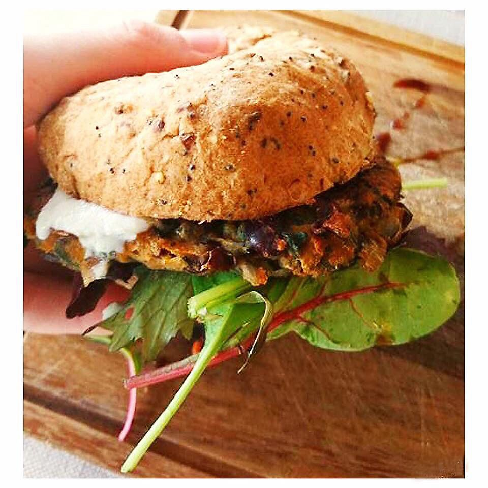 "Photo of CLOSED: The Hidden Olive  by <a href=""/members/profile/Fay84Vegan"">Fay84Vegan</a> <br/>VEGGIE Burger with Cashew Cheese & Gluten Free Bun  <br/> October 1, 2017  - <a href='/contact/abuse/image/83825/310516'>Report</a>"