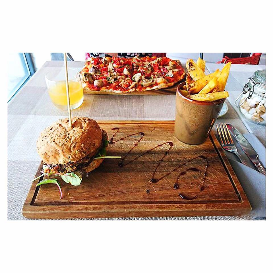 "Photo of CLOSED: The Hidden Olive  by <a href=""/members/profile/Fay84Vegan"">Fay84Vegan</a> <br/>Veggie a Burger, Triple Cooked Chips & Vegan Pizza  <br/> October 1, 2017  - <a href='/contact/abuse/image/83825/310517'>Report</a>"