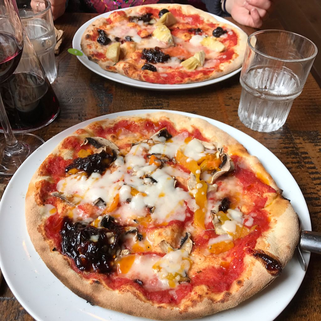 """Photo of Zizzi  by <a href=""""/members/profile/JanRole"""">JanRole</a> <br/>Vegan pizzes <br/> May 24, 2017  - <a href='/contact/abuse/image/83829/262124'>Report</a>"""