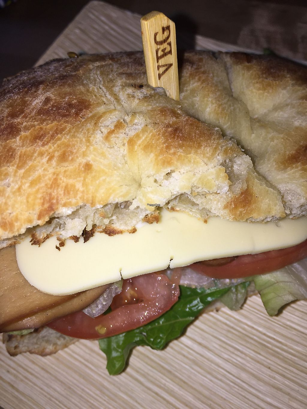 "Photo of Cafe Verve  by <a href=""/members/profile/PennsyltuckyVeggie"">PennsyltuckyVeggie</a> <br/>Chao Tofurky sandwich - my favorite! <br/> January 26, 2017  - <a href='/contact/abuse/image/83830/217186'>Report</a>"