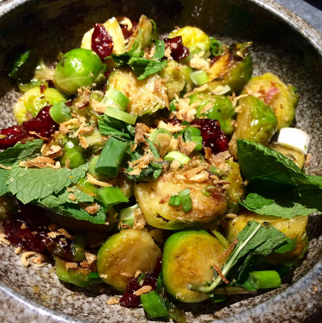"""Photo of Yugo  by <a href=""""/members/profile/CiaraSlevin"""">CiaraSlevin</a> <br/>Brussels with cranberries, chilli & mint <br/> December 12, 2016  - <a href='/contact/abuse/image/83831/200481'>Report</a>"""