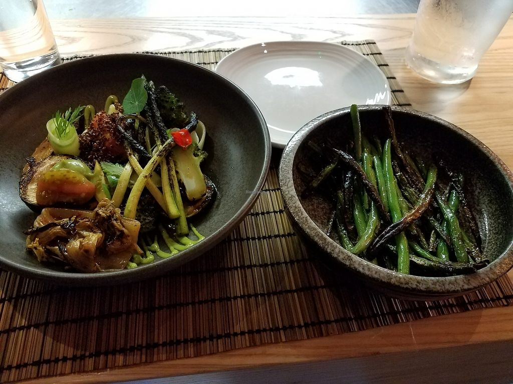 """Photo of Yugo  by <a href=""""/members/profile/Ryan%20MTB"""">Ryan MTB</a> <br/>courgette (zucchini) and green beans <br/> August 5, 2017  - <a href='/contact/abuse/image/83831/289295'>Report</a>"""