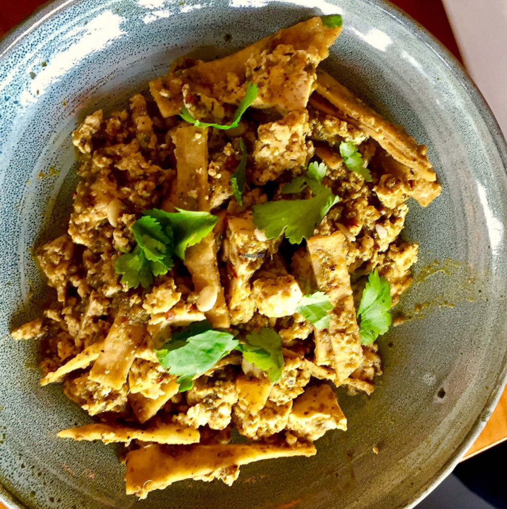 """Photo of Nightshade  by <a href=""""/members/profile/MamaMartha"""">MamaMartha</a> <br/>Tofu Chilaquiles...Excellent! <br/> January 29, 2017  - <a href='/contact/abuse/image/83842/218727'>Report</a>"""