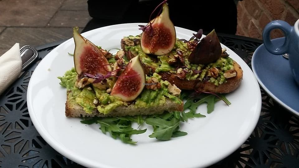 "Photo of Gulp & Graze  by <a href=""/members/profile/deadpledge"">deadpledge</a> <br/>Smashed avocado on toast with walnuts, figs and rocket <br/> November 4, 2017  - <a href='/contact/abuse/image/83876/321653'>Report</a>"