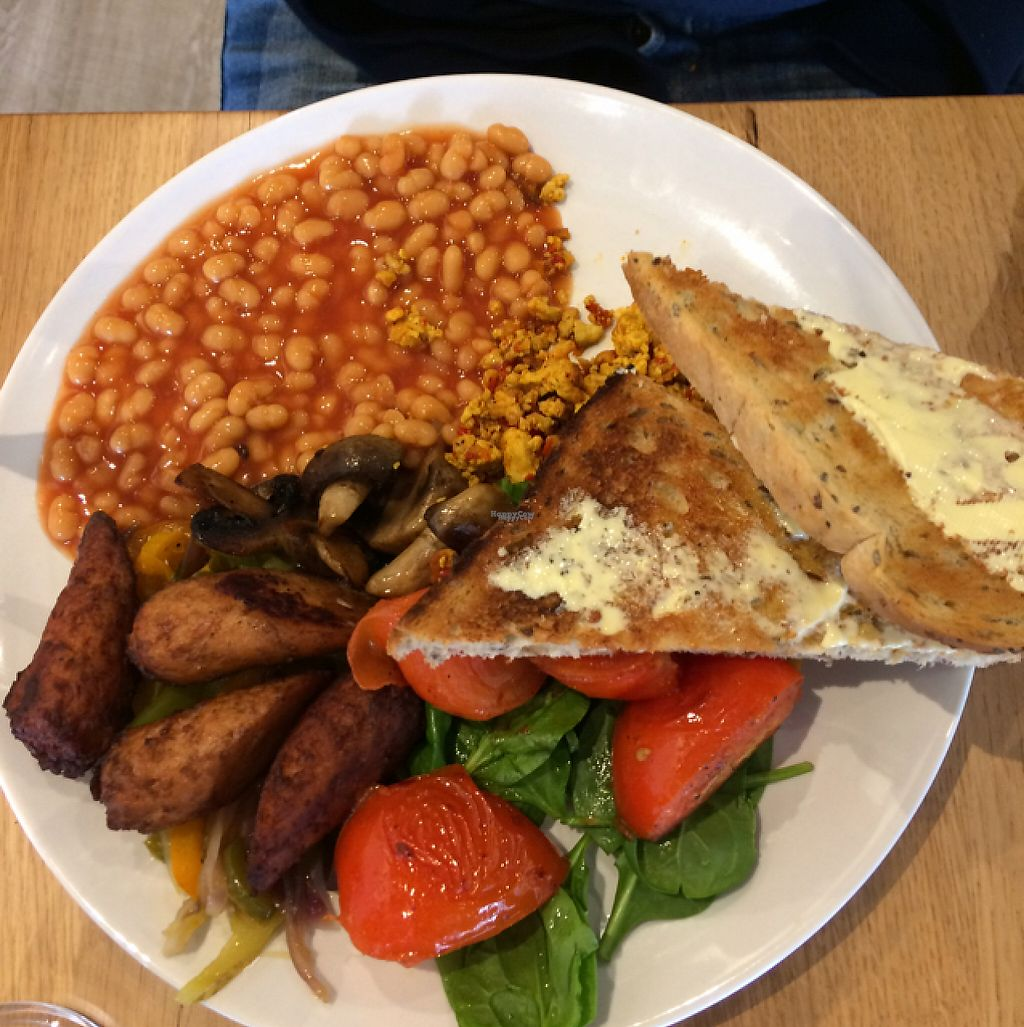 """Photo of Ahimsa The Vegan Cafe  by <a href=""""/members/profile/Alisonc"""">Alisonc</a> <br/>vegan breakfast  <br/> April 9, 2017  - <a href='/contact/abuse/image/83881/246144'>Report</a>"""