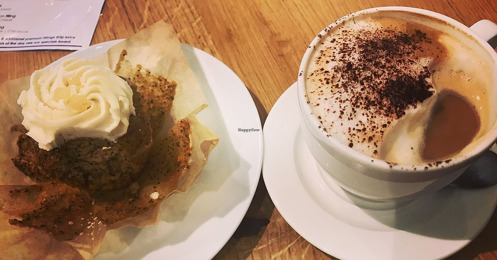 """Photo of Ahimsa The Vegan Cafe  by <a href=""""/members/profile/RenKrb"""">RenKrb</a> <br/>Yum <br/> October 24, 2017  - <a href='/contact/abuse/image/83881/318369'>Report</a>"""