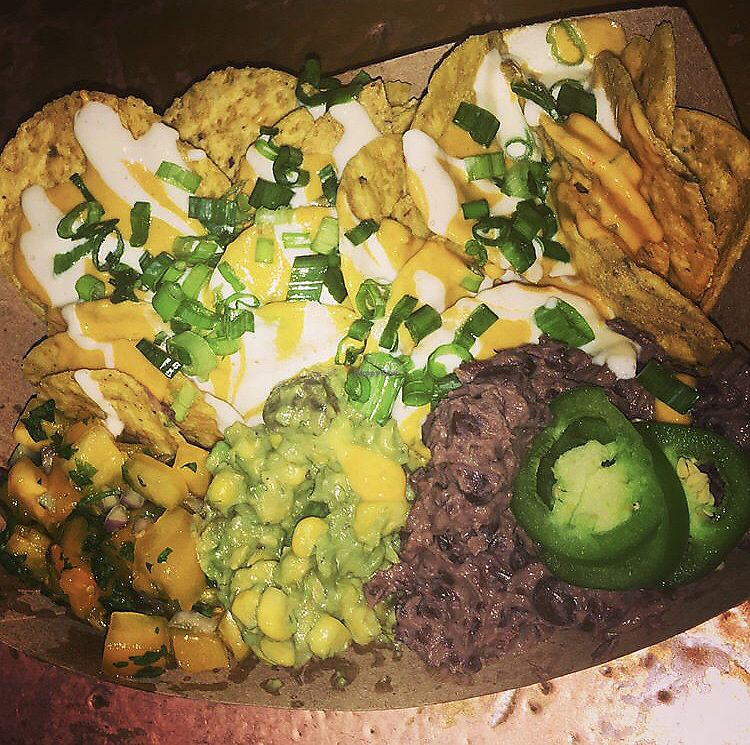 "Photo of Woodhouse Vegan Pop-Up  by <a href=""/members/profile/Tabgreenvegan"">Tabgreenvegan</a> <br/>Vegan Nachos <br/> March 29, 2018  - <a href='/contact/abuse/image/83895/377776'>Report</a>"