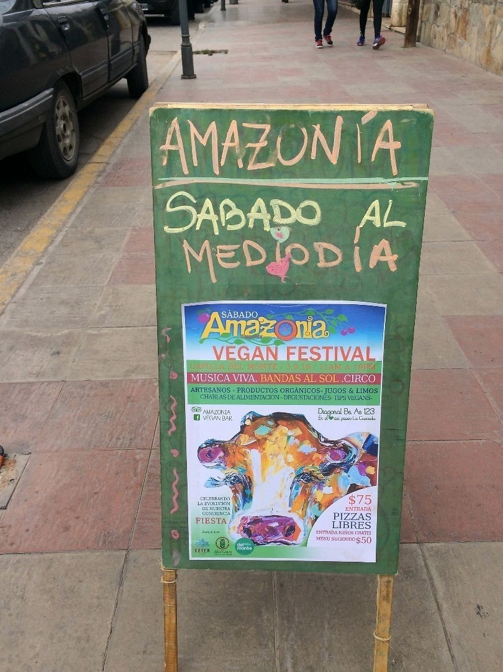 """Photo of Amazonia  by <a href=""""/members/profile/BudgetBucketList"""">BudgetBucketList</a> <br/>Vegan event organized by Amazonia <br/> December 14, 2016  - <a href='/contact/abuse/image/83896/200874'>Report</a>"""