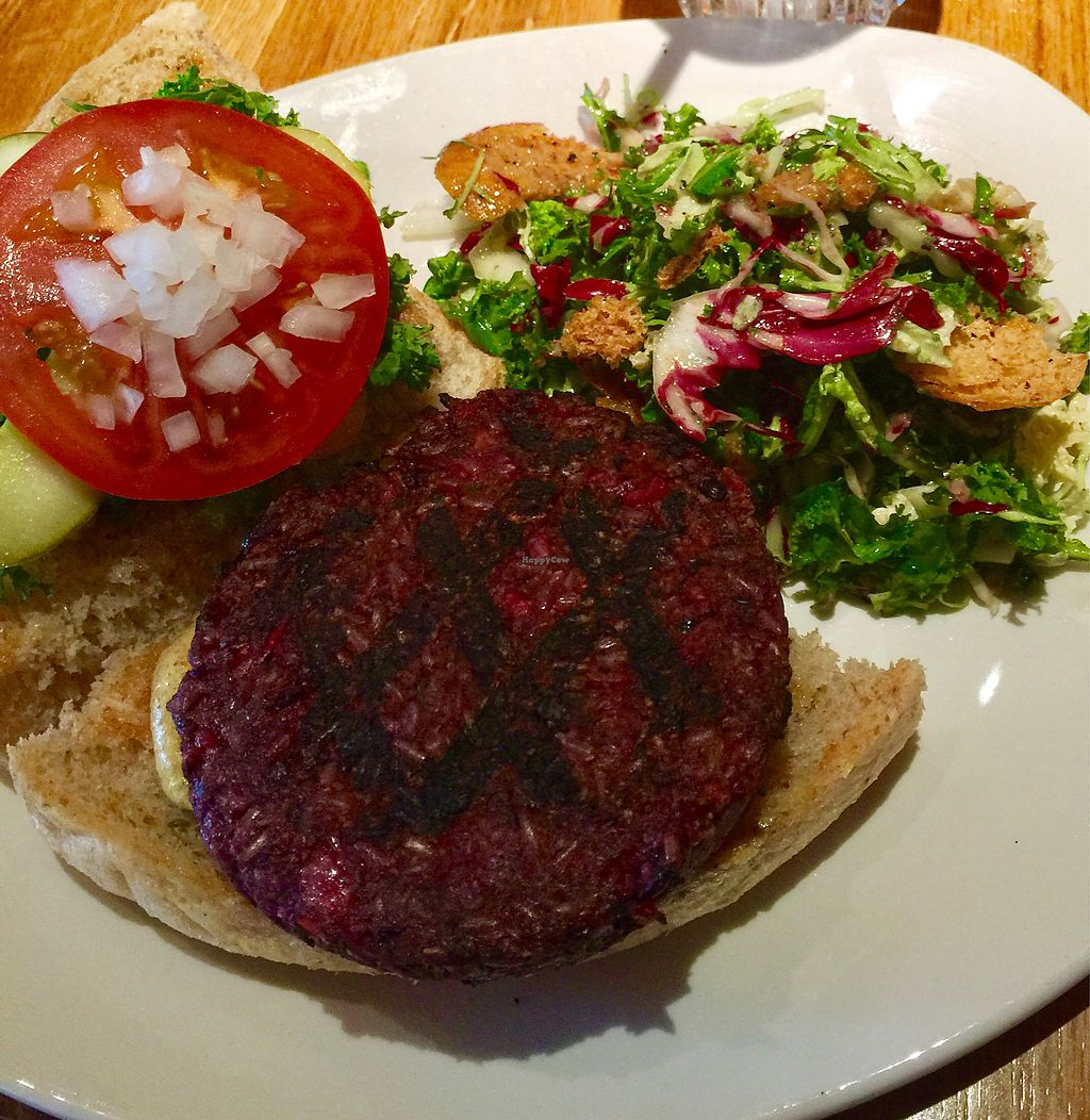 "Photo of Northstar Cafe  by <a href=""/members/profile/paolakrump"">paolakrump</a> <br/>One of the best veggie burger I've tried so far <br/> January 20, 2018  - <a href='/contact/abuse/image/83900/349022'>Report</a>"
