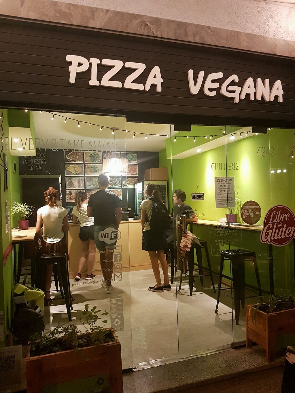 "Photo of Pizza Vegana - San Telmo   by <a href=""/members/profile/Olena"">Olena</a> <br/>from outside  <br/> April 12, 2018  - <a href='/contact/abuse/image/83905/384659'>Report</a>"