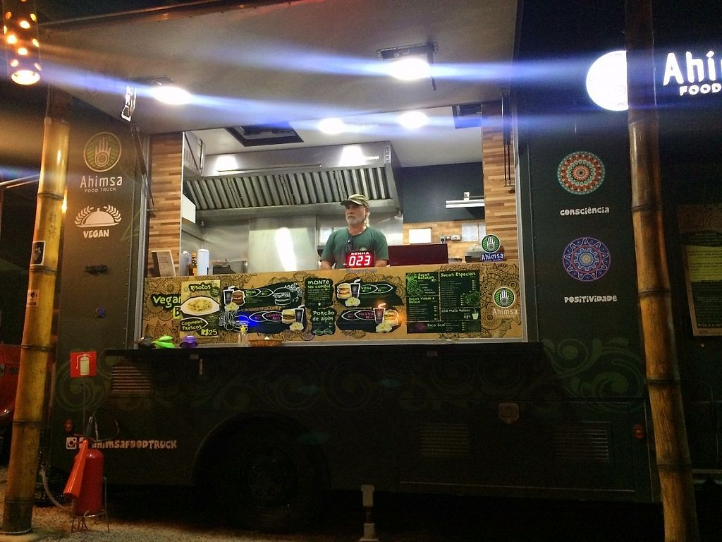 "Photo of Ahimsa Food Truck  by <a href=""/members/profile/BudgetBucketList"">BudgetBucketList</a> <br/>This guy looks so  friendly <br/> May 4, 2017  - <a href='/contact/abuse/image/83946/255556'>Report</a>"