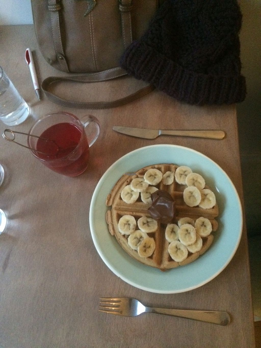 """Photo of Brunchroom  by <a href=""""/members/profile/small_trees"""">small_trees</a> <br/>Vegan Nutella and banana.  <br/> December 17, 2016  - <a href='/contact/abuse/image/83956/202166'>Report</a>"""