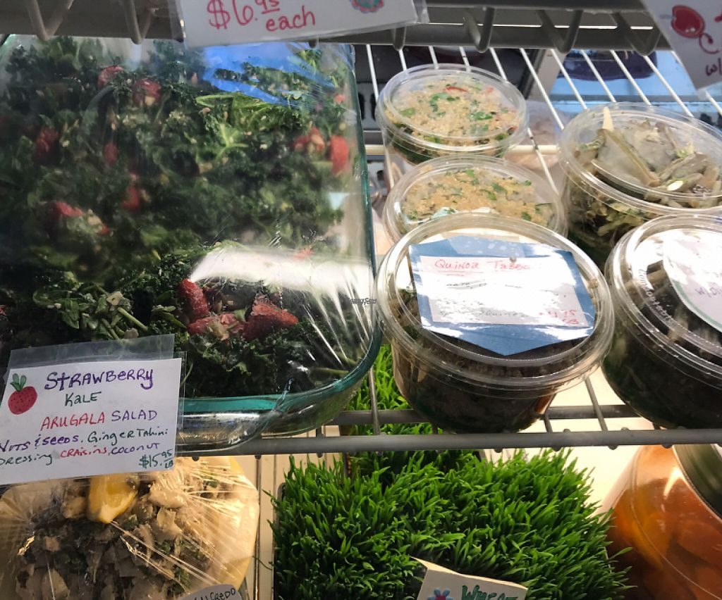 "Photo of Totally Radish Market & Deli  by <a href=""/members/profile/Sarah%20P"">Sarah P</a> <br/>vegan deli items <br/> March 25, 2017  - <a href='/contact/abuse/image/83960/240841'>Report</a>"