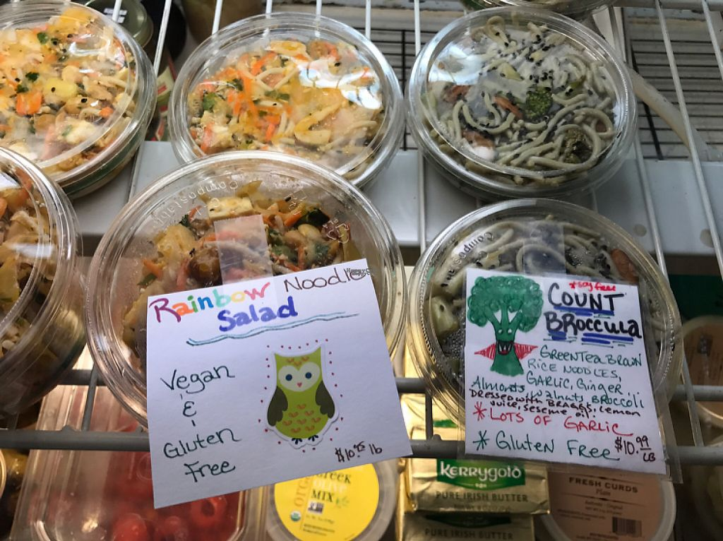 "Photo of Totally Radish Market & Deli  by <a href=""/members/profile/Sarah%20P"">Sarah P</a> <br/>delicious noodles in the deli case <br/> April 26, 2017  - <a href='/contact/abuse/image/83960/252563'>Report</a>"