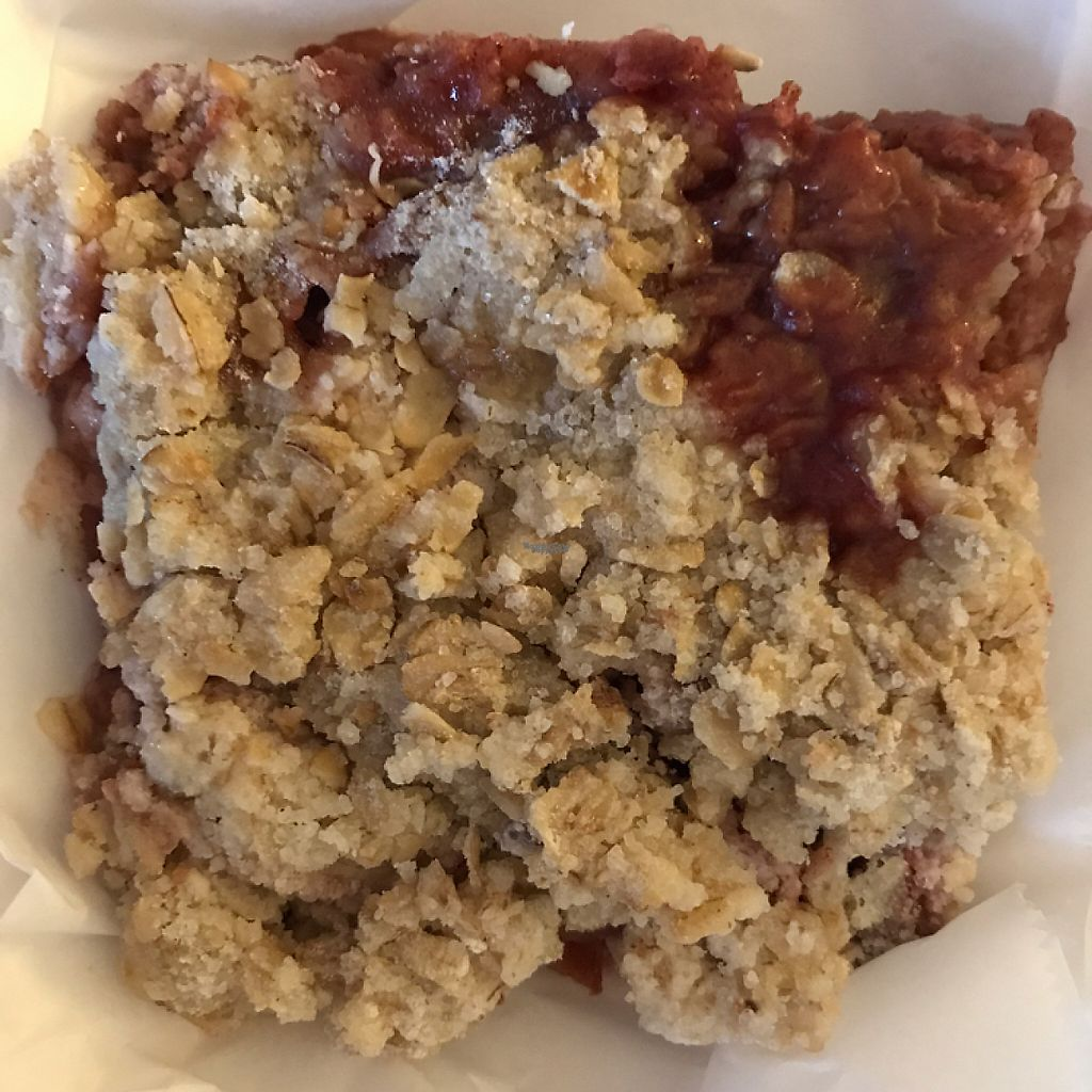 "Photo of Totally Radish Market & Deli  by <a href=""/members/profile/Sarah%20P"">Sarah P</a> <br/>vegan salmonberry apple crisp <br/> April 26, 2017  - <a href='/contact/abuse/image/83960/252564'>Report</a>"