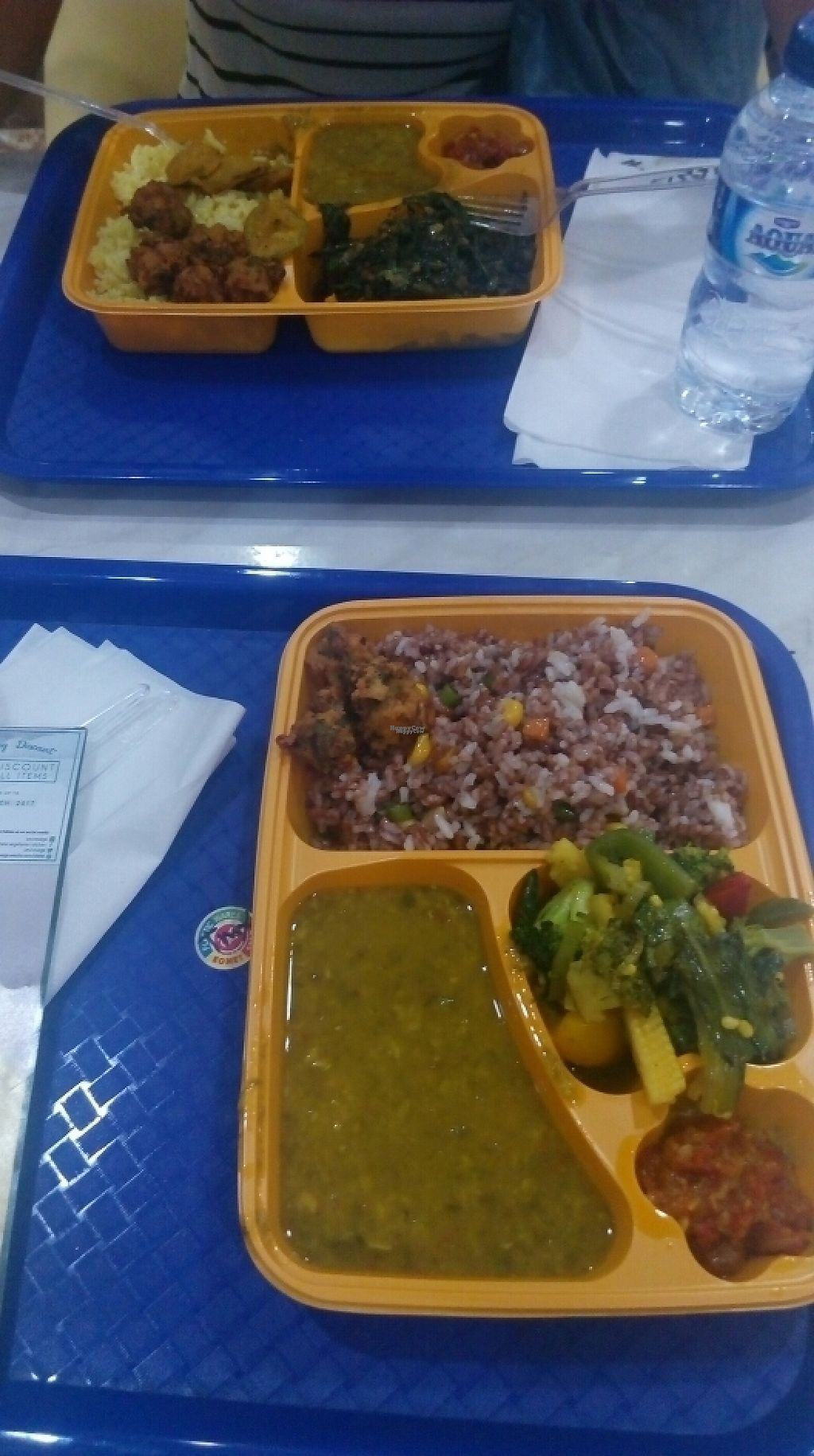 """Photo of Vesne Vegetarian Kitchen  by <a href=""""/members/profile/Sillywesimon"""">Sillywesimon</a> <br/>tasty but in plastic <br/> March 29, 2017  - <a href='/contact/abuse/image/83967/242271'>Report</a>"""