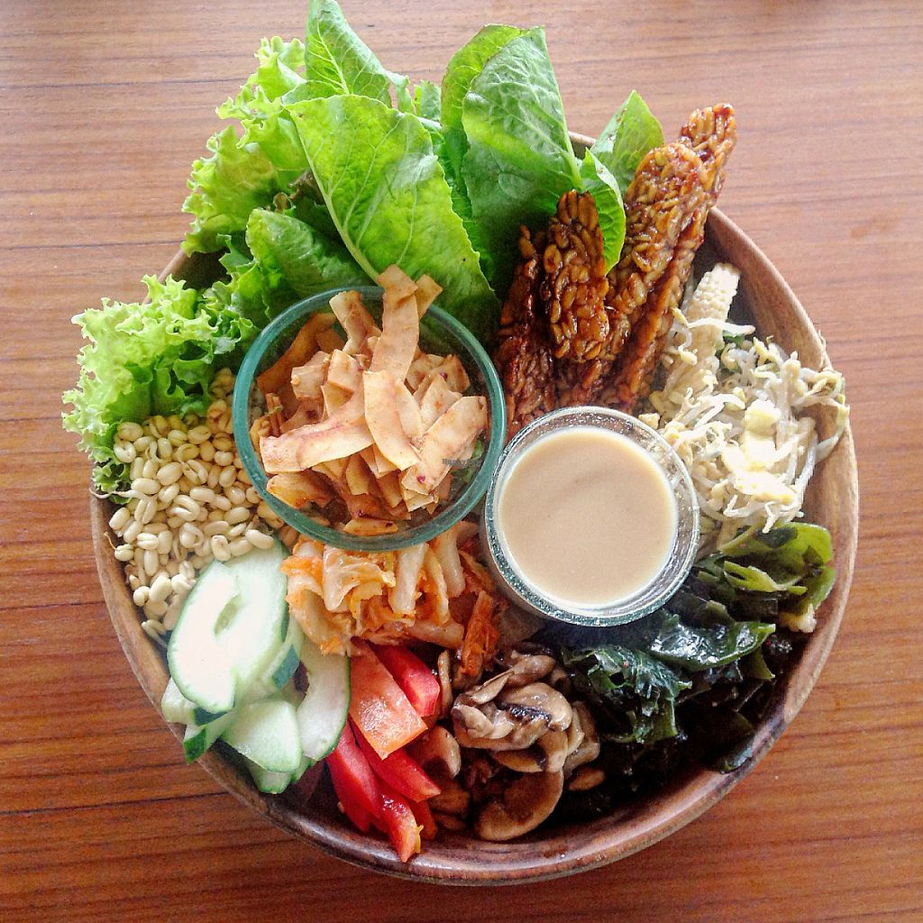 """Photo of Sayuri Healing Food  by <a href=""""/members/profile/HappyVeganCouple"""">HappyVeganCouple</a> <br/>Ocean bowl with tempeh <br/> March 25, 2017  - <a href='/contact/abuse/image/83973/240801'>Report</a>"""