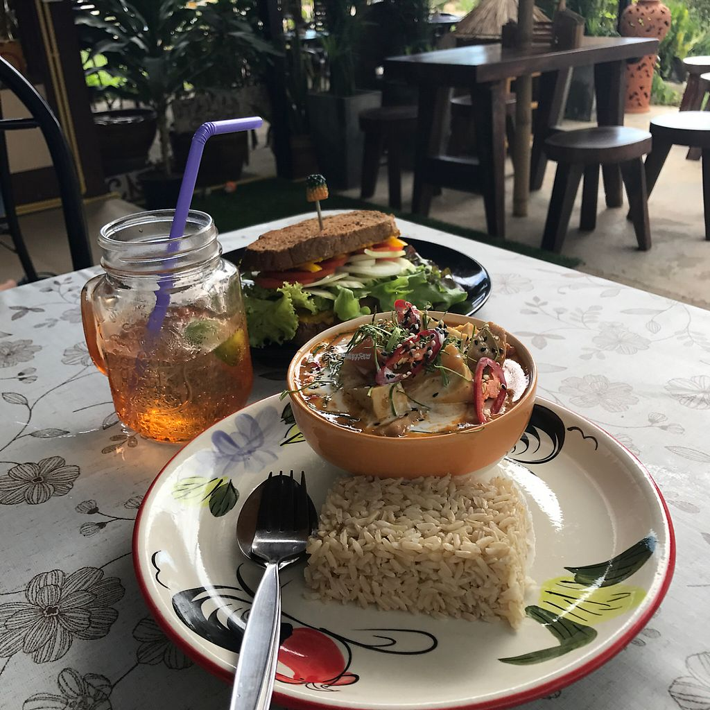 """Photo of Happy Veggie  by <a href=""""/members/profile/JoeNYC"""">JoeNYC</a> <br/>Penang Curry <br/> April 6, 2017  - <a href='/contact/abuse/image/83999/245181'>Report</a>"""