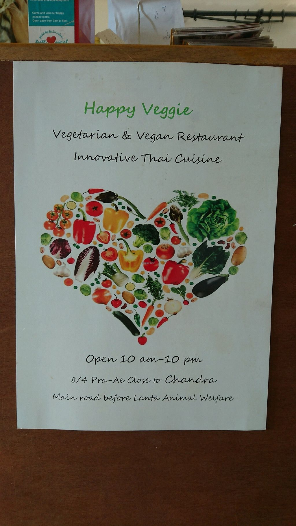 """Photo of Happy Veggie  by <a href=""""/members/profile/AnthonyMTL"""">AnthonyMTL</a> <br/>Happy Veggie Sign  <br/> December 15, 2017  - <a href='/contact/abuse/image/83999/335716'>Report</a>"""