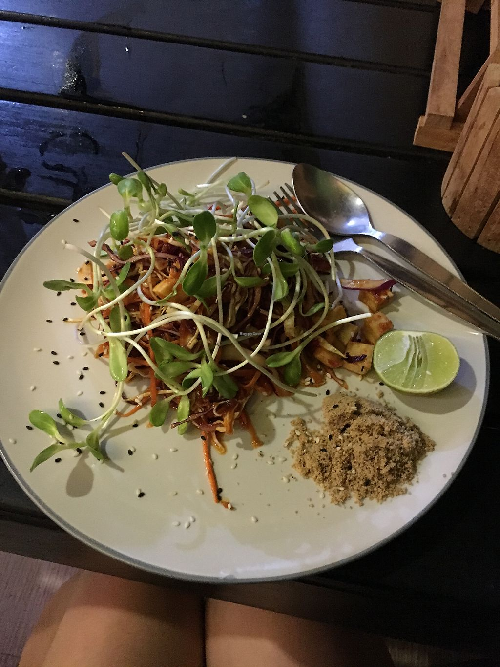 """Photo of Happy Veggie  by <a href=""""/members/profile/LauraDhavani"""">LauraDhavani</a> <br/>Raw Pad Thai ?? <br/> April 12, 2018  - <a href='/contact/abuse/image/83999/384606'>Report</a>"""