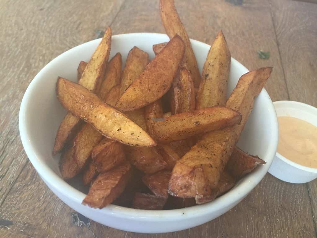 """Photo of Herbivore Eatery  by <a href=""""/members/profile/Tiggy"""">Tiggy</a> <br/>Regular fries - December 2016 <br/> January 1, 2017  - <a href='/contact/abuse/image/84024/206735'>Report</a>"""
