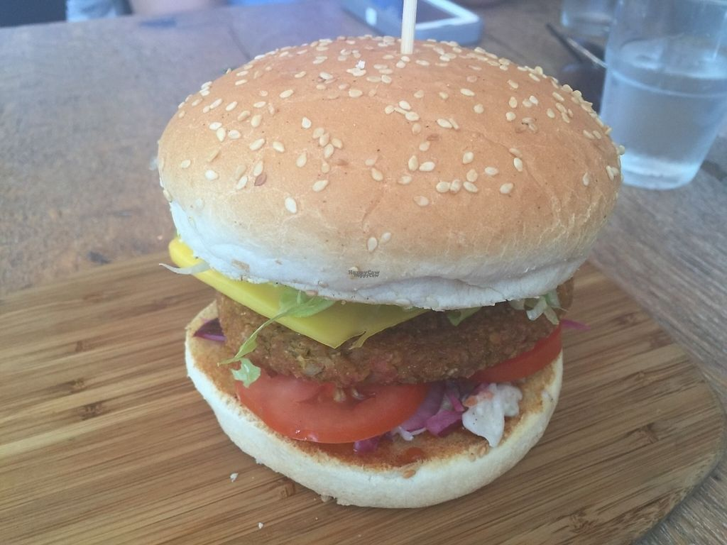 """Photo of Herbivore Eatery  by <a href=""""/members/profile/Tiggy"""">Tiggy</a> <br/>The Full Veg burger - December 2016 <br/> January 1, 2017  - <a href='/contact/abuse/image/84024/206736'>Report</a>"""