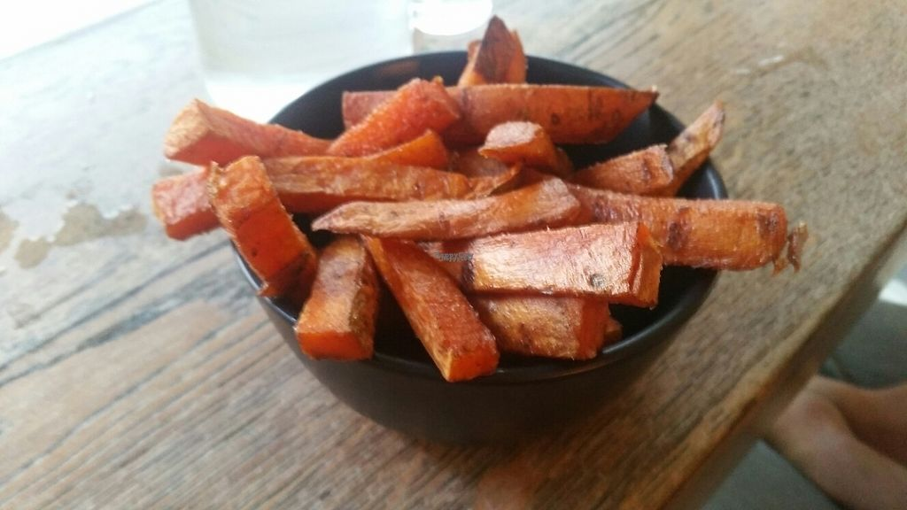 """Photo of Herbivore Eatery  by <a href=""""/members/profile/KatieBatty"""">KatieBatty</a> <br/>Sweet potato fries <br/> March 17, 2017  - <a href='/contact/abuse/image/84024/237667'>Report</a>"""