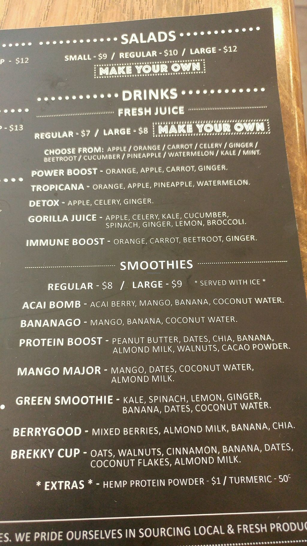 """Photo of Herbivore Eatery  by <a href=""""/members/profile/verbosity"""">verbosity</a> <br/>jan 2018 menu 3 <br/> January 22, 2018  - <a href='/contact/abuse/image/84024/349595'>Report</a>"""