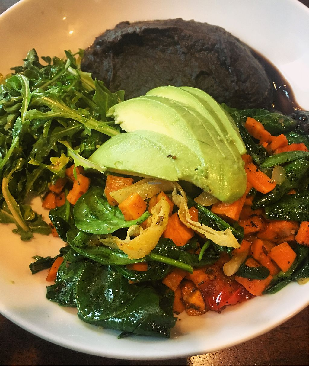 """Photo of 5 Points Local  by <a href=""""/members/profile/StephanieWilson"""">StephanieWilson</a> <br/>Vegan veggie breakfast bowl  <br/> March 24, 2018  - <a href='/contact/abuse/image/84025/375438'>Report</a>"""