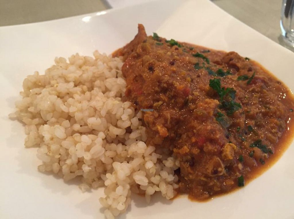 """Photo of Saborami  by <a href=""""/members/profile/SamanthaIngridHo"""">SamanthaIngridHo</a> <br/>Vegan keema curry <br/> December 19, 2016  - <a href='/contact/abuse/image/84032/202864'>Report</a>"""