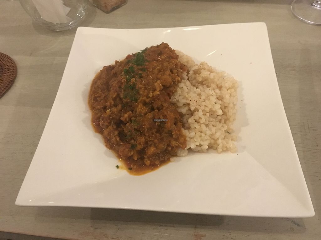 """Photo of Saborami  by <a href=""""/members/profile/ShannonHegedus"""">ShannonHegedus</a> <br/>Vegan Keema Curry <br/> March 19, 2018  - <a href='/contact/abuse/image/84032/372914'>Report</a>"""