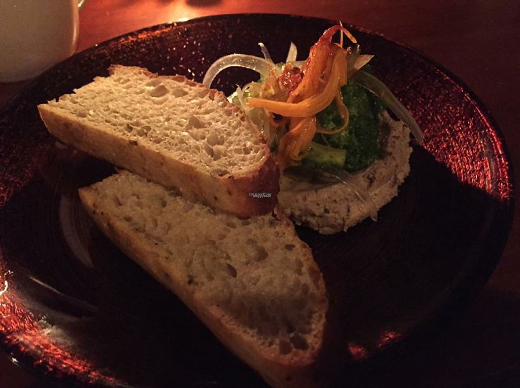 """Photo of Rockers Cafe  by <a href=""""/members/profile/SamanthaIngridHo"""">SamanthaIngridHo</a> <br/>Homemade focaccia and hummus (vegan appetizer) <br/> December 16, 2016  - <a href='/contact/abuse/image/84033/201597'>Report</a>"""