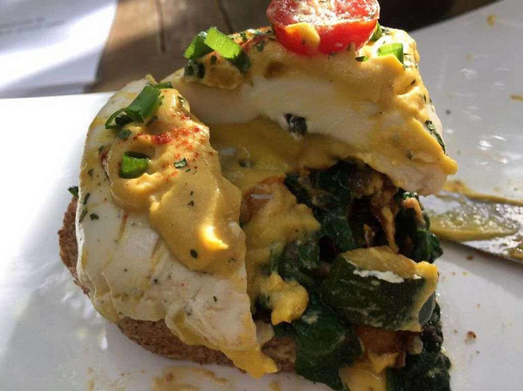 """Photo of Natural Cafe Niffera  by <a href=""""/members/profile/SamanthaIngridHo"""">SamanthaIngridHo</a> <br/>Vegan Egg Benedict  <br/> December 16, 2016  - <a href='/contact/abuse/image/84034/201969'>Report</a>"""