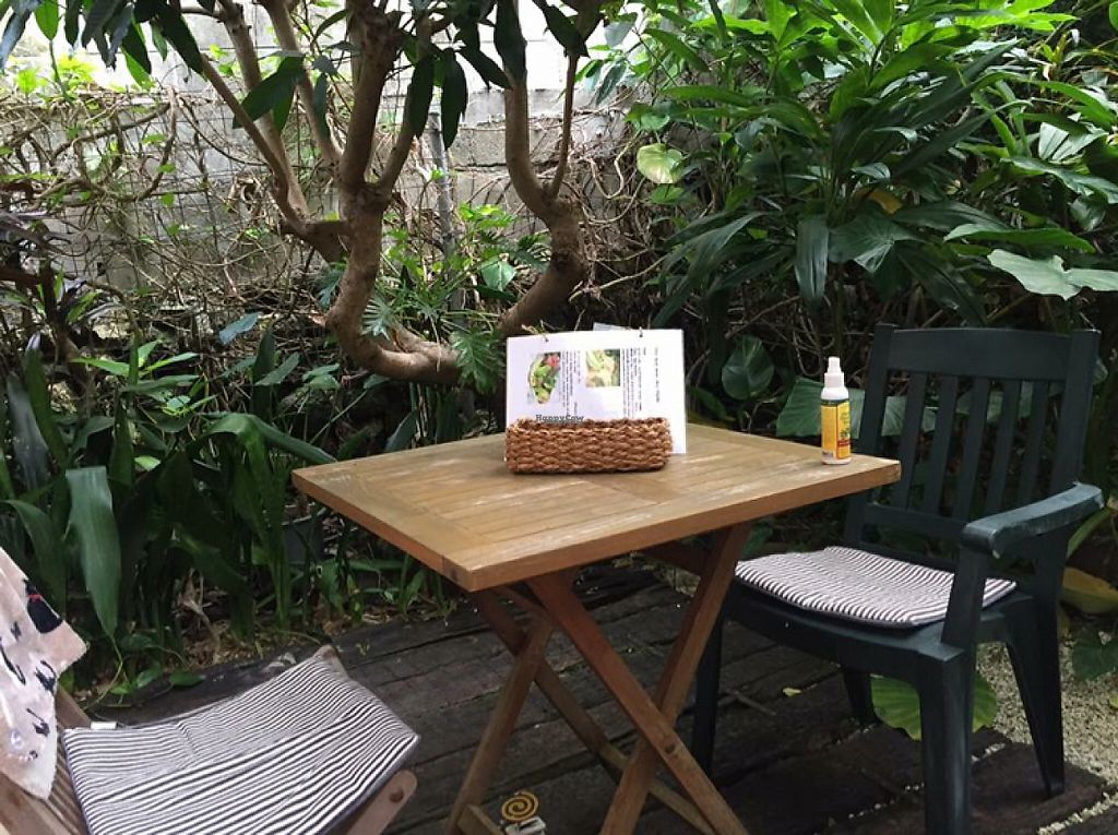 """Photo of Natural Cafe Niffera  by <a href=""""/members/profile/SamanthaIngridHo"""">SamanthaIngridHo</a> <br/>Cafe Niffera Outdoor Seating <br/> December 16, 2016  - <a href='/contact/abuse/image/84034/201970'>Report</a>"""