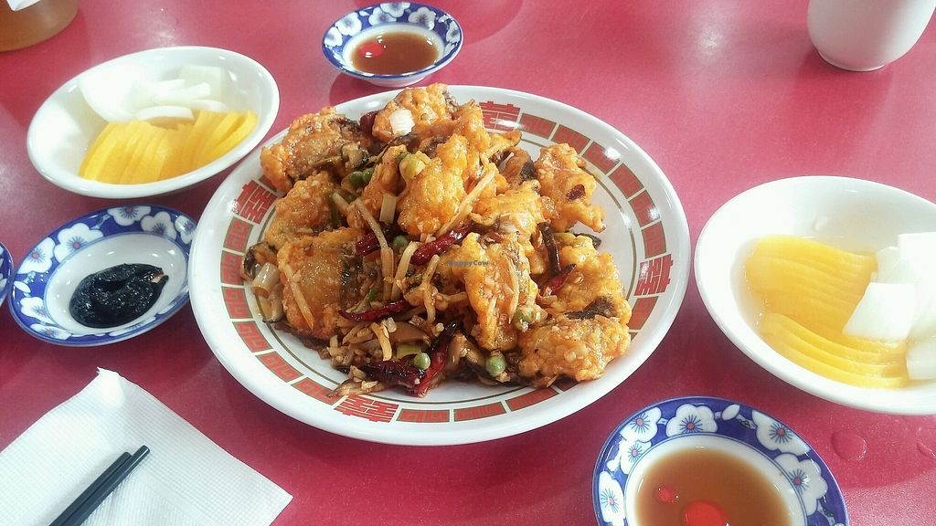 """Photo of HaGoong - 하궁  by <a href=""""/members/profile/ALee1990"""">ALee1990</a> <br/>Kkanpoong pyogo (Spicy fried shitake)  <br/> September 9, 2017  - <a href='/contact/abuse/image/84055/302309'>Report</a>"""